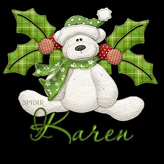 Karen hm bearychristmascorner