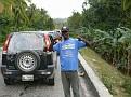 Traffic at the main entrance of Jacmel