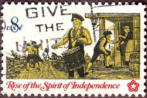 USA 1973 Rise of the Spirit of Independance