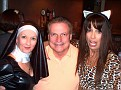 "The Nasty Nun and Leopard Lady snag a ""victim"""