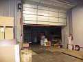 Extra Large motorized Freight door from loading docks