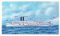 American Heritage Steamboats #31 Commonwealth 1908