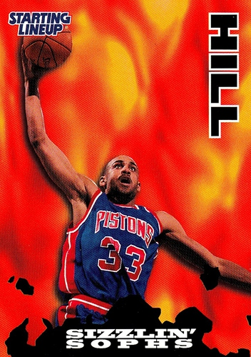 1996 Starting Lineup Grant Hill Detroit Pistons Promo (1)
