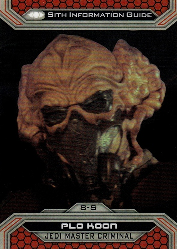 Chrome Perspectives Jedi vs  Sith #08S (1)