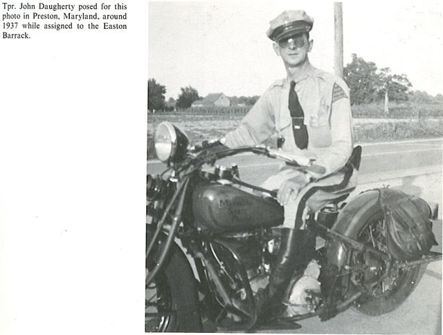 MD - Maryland State Police 1937