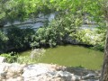 Cenote of Chichen Itza, Yucatan Peninsula, Mexico