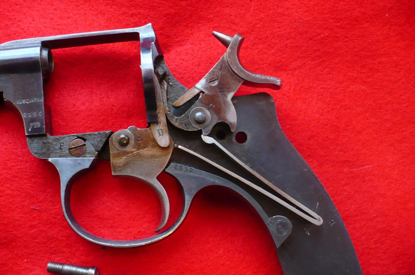 Револьвер чертежи фото