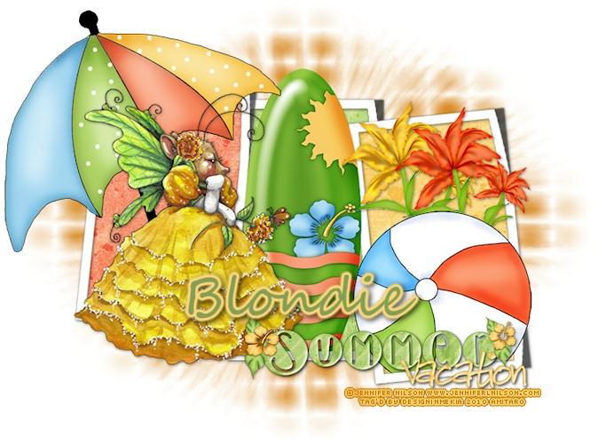 Blondie JL-SummerVacation