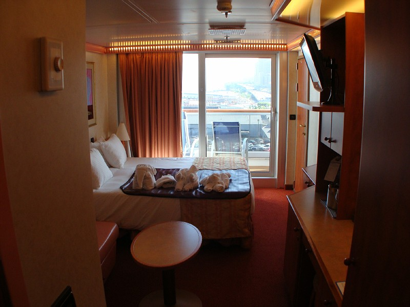 Spa Deck Balcony Cabin 8F