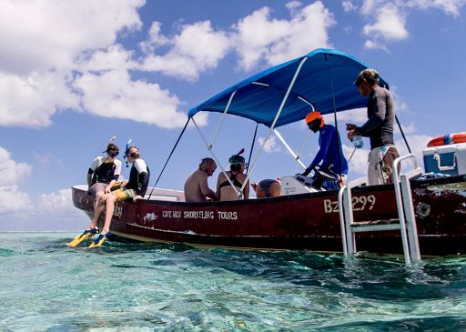 Caveman snorkel tour
