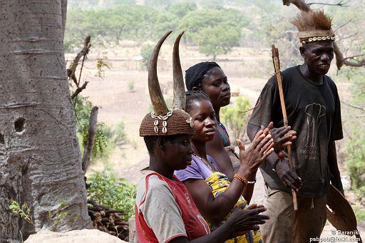 Mieszkańcy wioski