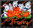 3 Ghosts & pumpkinTracey