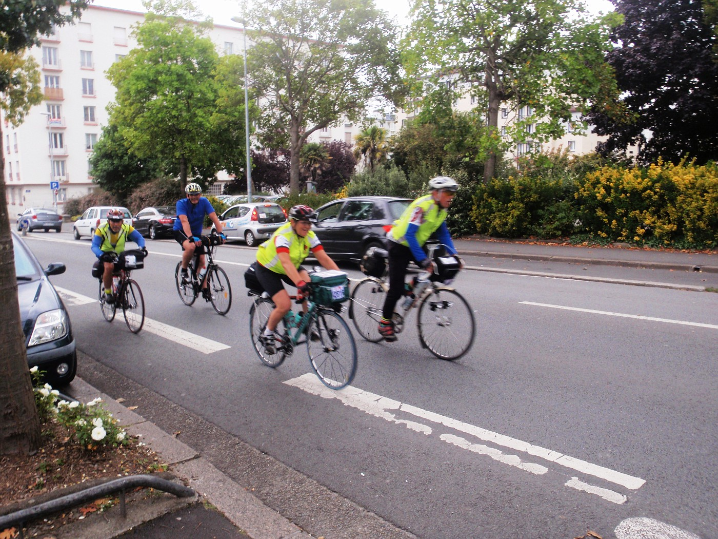 Arrival in Brest