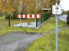 Geh-/Radweg-Ende