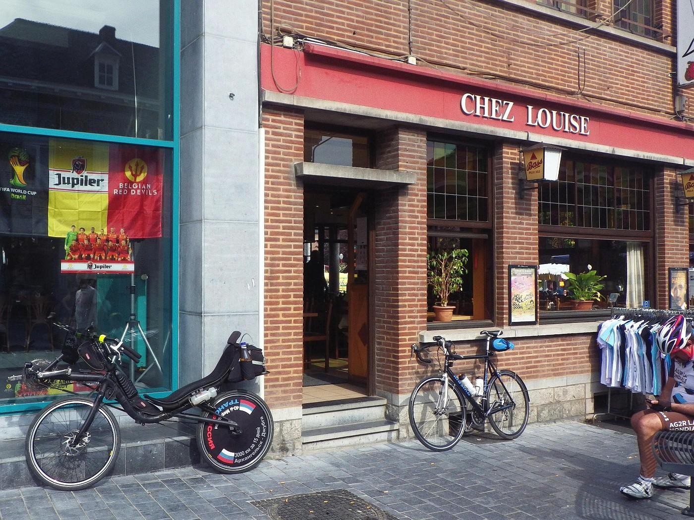 Kontrolle Chez Louise, Frameries