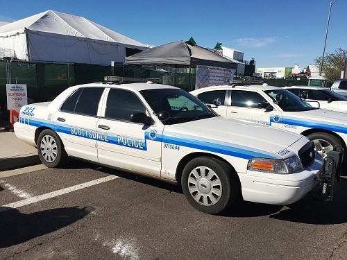 AZ- Scottsdale Police 2012 Ford