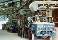 C39 Lorries loadingfrom conveyor belts in linhay