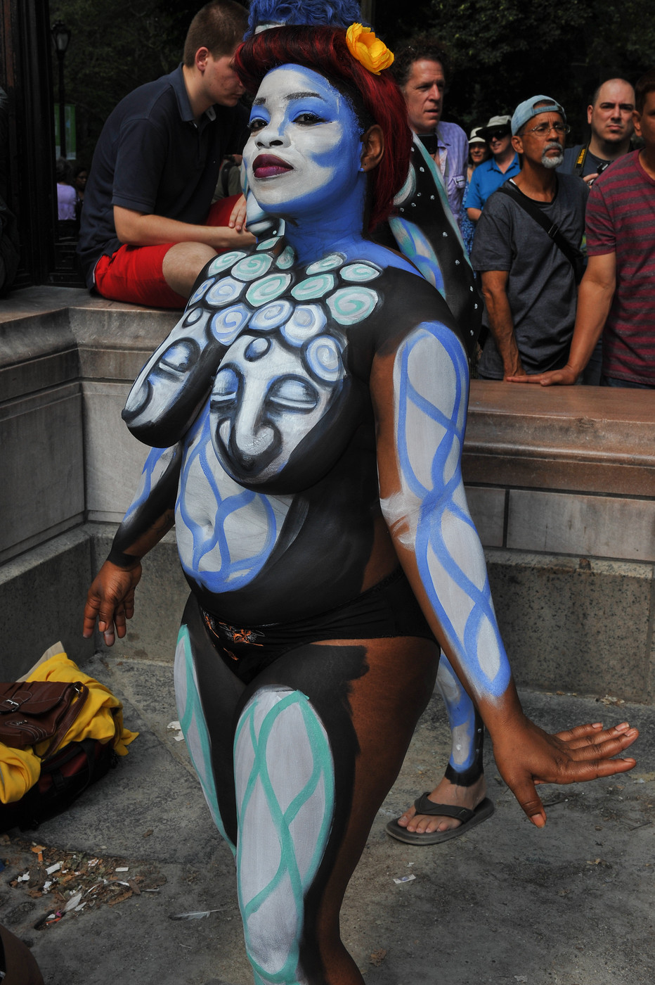 Cunt body paint slim