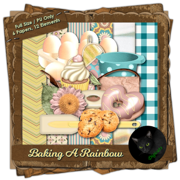 Baking A Rainbow Mini Kit 3 (Full Size)