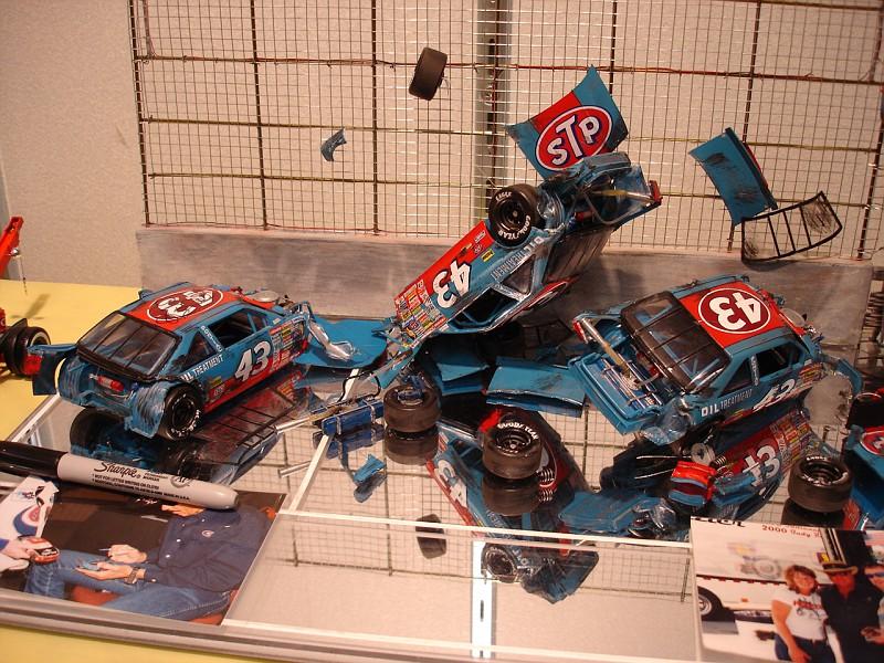 Diorama of Richard's 1988 Wreck | Richard Petty Fan Forum