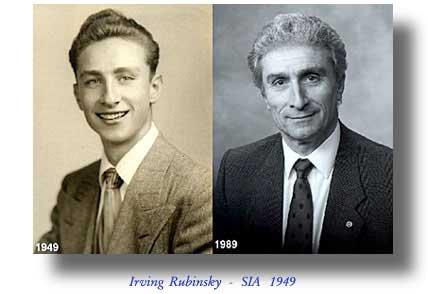 Irving Rubinsky, Class of 1949