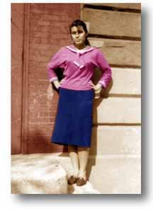 Yvonne Fitzner, best friends!! Senior 1960