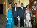 Mrs Muzac, Dr Andre Muzac,Dr and Mrs Christian Lauriston.