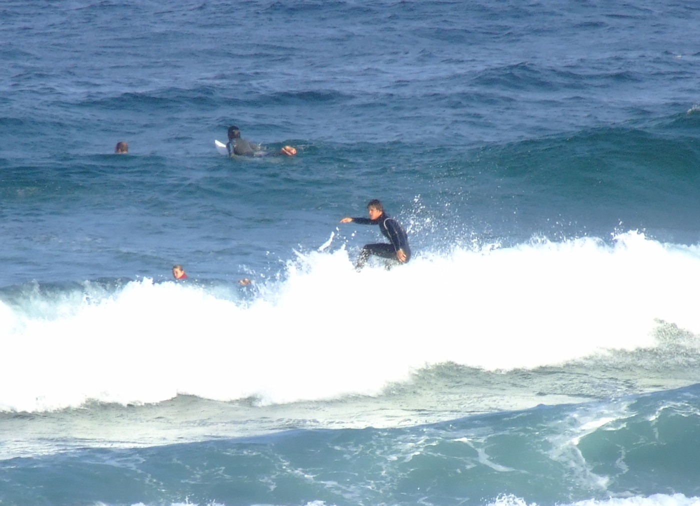 Surfers at Maroubra Beach 055