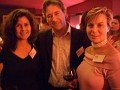 left to right: Christina Aplington, Director of Biotechnology, Ballou PR; Marc Deschamps, Directeur General, LD&A; Colette Ballou Lamotte, Ballou PR
