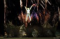 Man in Fireworks