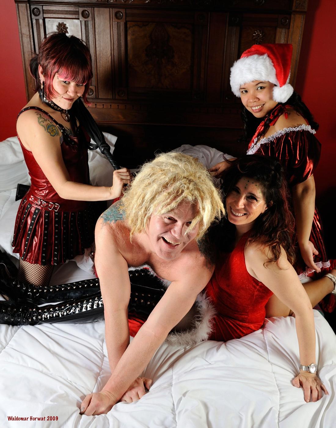 Melody, Warrior, Melanie, and Grace