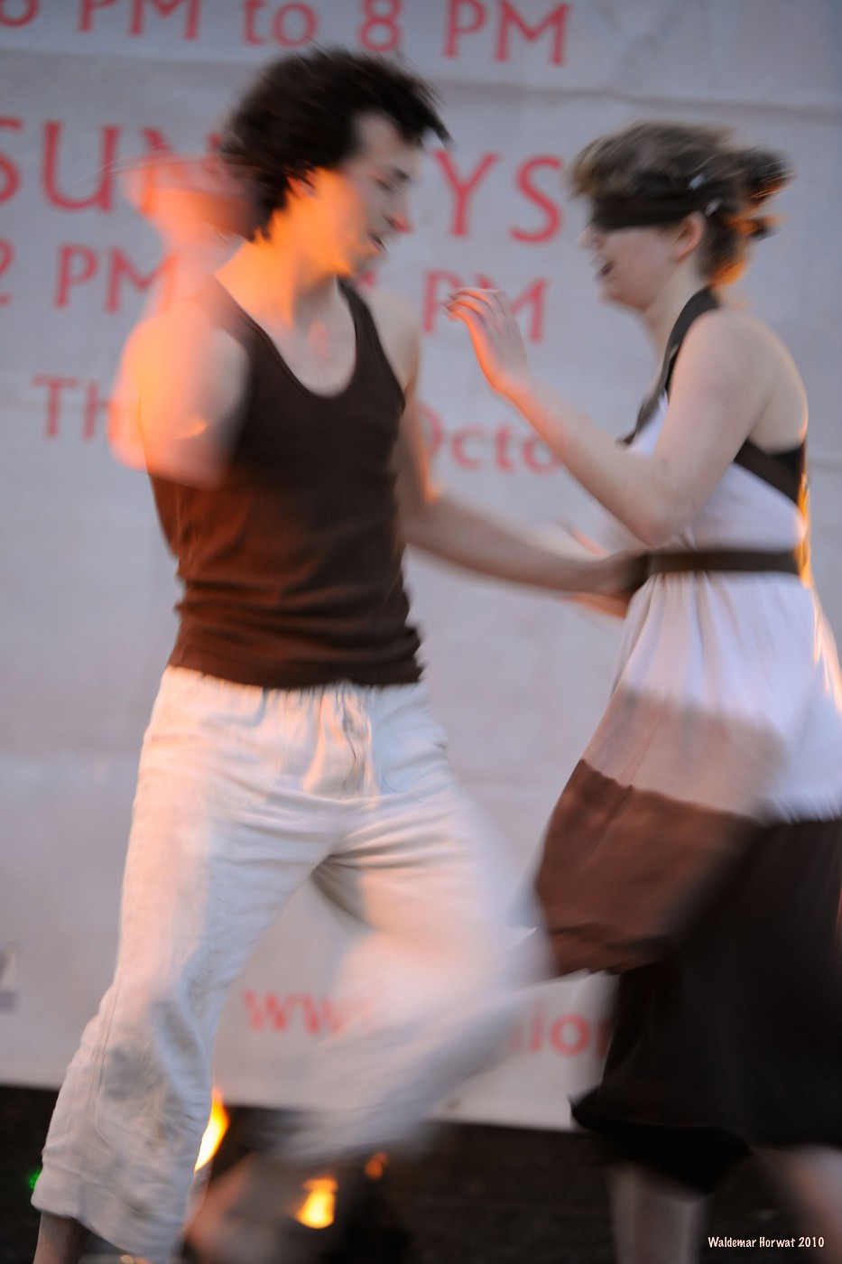 Blindfolded Dance