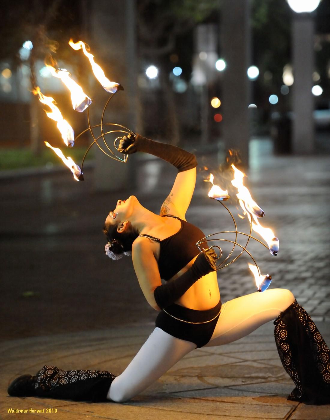 Fire Pose