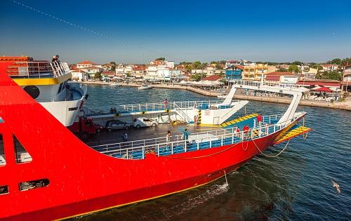 Ferry to Thassos