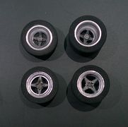 RF1-118 F1/CanAm wheels set with painted and mounted inserts