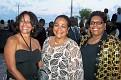 Jocelyne San Millan, Joelle Moise Gaetjeens, Marlene Cesar President Nurses Association.