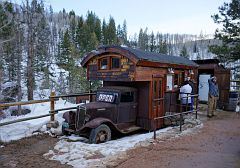 Strawberry Park Hot Springs , Park entrance