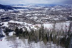 View of Steamboat Springs