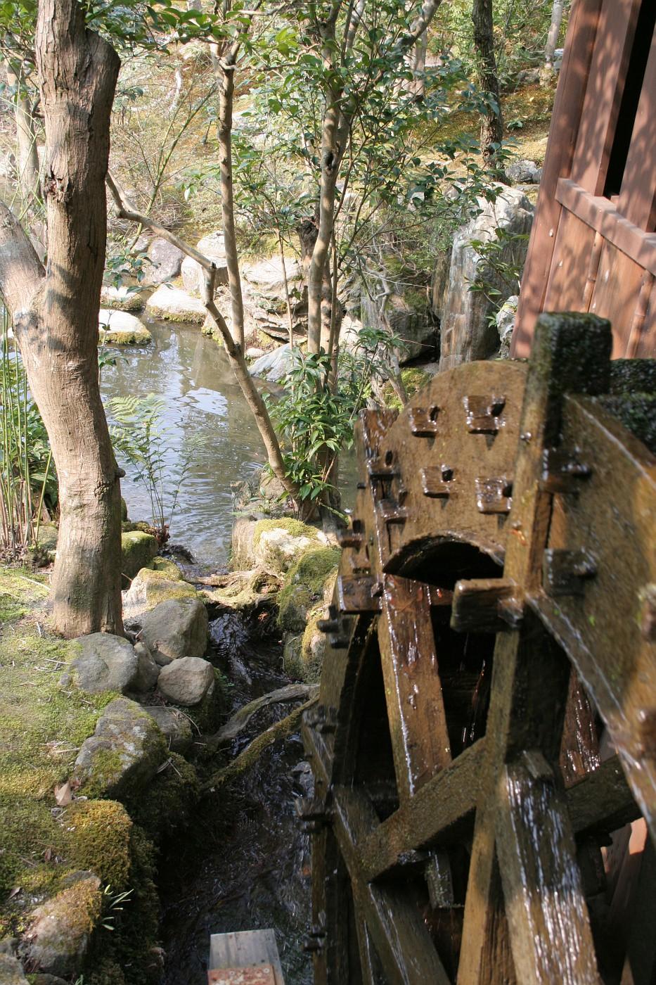 Wheel of a little mill