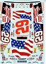 2002 Harvick Flag WW74