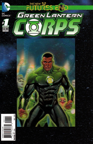 Green Lantern Corps Futures End