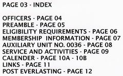 PAGE 03 - INDEX