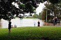 Lower George Street crossing flooded 030312 1108 am