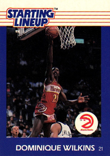 1995 Starting Lineup Dominique Wilkins (1)