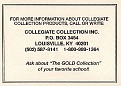 1990 Collegiate Collection North Carolina Coupon (2)