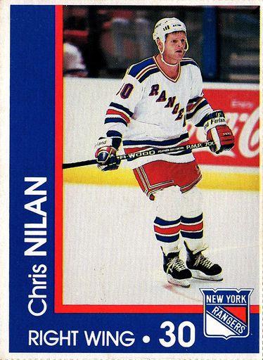 1989-90 Marine Midland New York Rangers #30 (1)