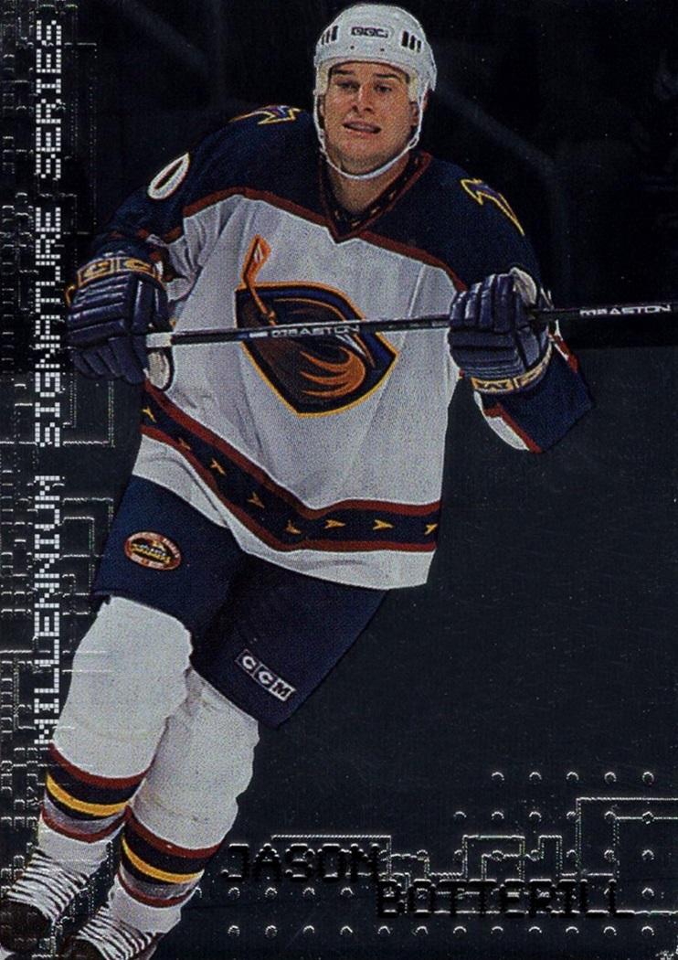 1999-00 Be A Player Signature Series Millenium #018 (1)