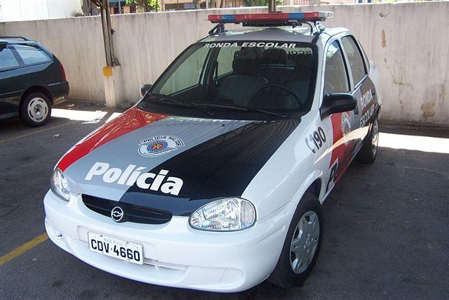 Brazil - Viatura da Polícia Militar Corsa 1 - 14 BPM
