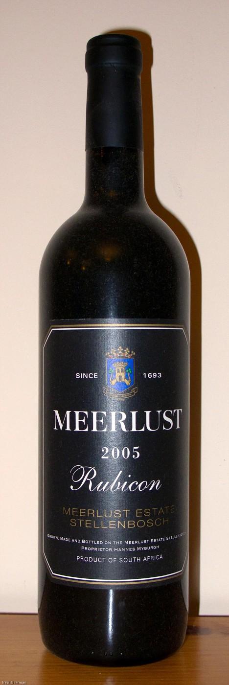 Meerlust Rubicon 2005