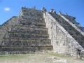 Ruins of Chichen Itza, Yucatan Peninsula, Mexico   Pyramids, Mayan Ruins and Ancient City Plazas   April 05